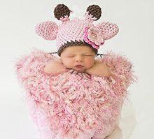 1hat cap Herten hoorn Oren Potograpy Oorklep baby & Peuter voor baby Kind Pasgeboren meisjes Warmer Fotografie(China (Mainland))