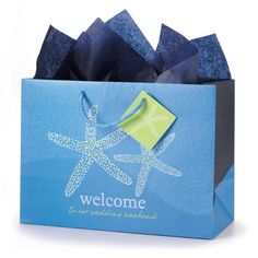 Seaside Romance Wedding Weekend Gift Bag Set | Wedding Favors