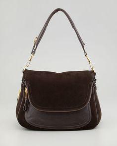 Tom Ford - Jennifer Large Suede Shoulder Bag    Great for fall