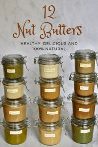 12 delicious homemade seed & nut butter recipes including tips on how to make nut butter perfect every time, flavour options, uses, storage and more! Tahini Butter Recipe, Nut Milk Recipe, Peanut Butter Recipes, Milk Recipes, Real Food Recipes, Healthy Recipes, Bread Recipes, Healthy Snacks, Yummy Food