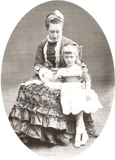 Helena and her daughter Thora
