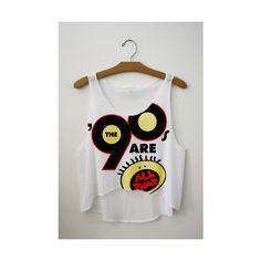 HotStyles 90's Are All That Crop Top found on Polyvore