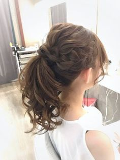 Hairstyles For Kids Highly Recommended Cool Hairstyles 2020 for Teenage Girls to Look Pretty and Nice Bride Hairstyles, Curled Hairstyles, Hairstyles Haircuts, Trendy Hairstyles, Kawaii Hairstyles, Cotton Candy Hair, Messy Wedding Hair, Bridal Hairdo, Hair Arrange