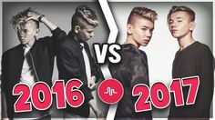 Marcus & Martinus - 2016 VS 2017 - Musical.ly Compilation | Musical.ly S...