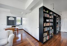 black and white built-ins