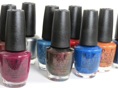 OPI San Francisco Collection Fall/Winter 2013 Review - I can't wait!!!  The Fall collection is always my fav!!!!!!!!!!!