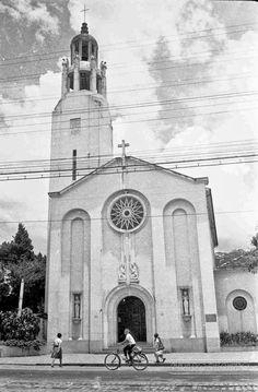 Cenáculo São João Evangelista, Av. Rio Branco, em fevereiro de 1965 (foto autoria de Jorge Couri).
