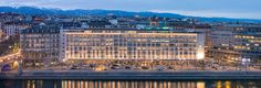 Take a luxurious view of Geneva at the Mandarin Oriental Geneva. Lying in the heart of the city, this beautiful hotel offers style, service and a wonderfully peaceful setting on the banks of the River Rhône.
