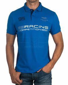 Polos Hackett Aston Martin Azul - Competition Camisa Polo, Aston Martin, Polo Tees, Tee Design, Competition, Sportswear, Graphic Tees, Shirt Designs, Polo Ralph Lauren