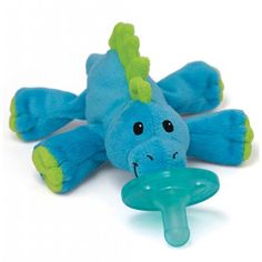 HAVE! WubbaNub Baby Dino Infant Pacifier, also have a moose and a doggie. Brody loves these!