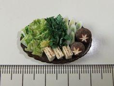Miniature food - miniature YOYO STUDIO raw veggie plater