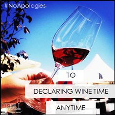 To declaring winetime anytime. #Riedel #wine
