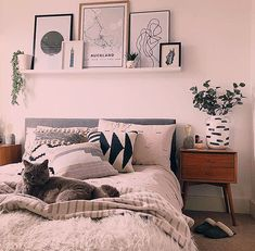 19 ways to style the blank space above your bed above bed floating