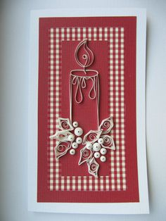 OOAK Christmas Greeting Card, Paper Art Christmas Wishes, Holiday Gift Card, Merry Christmas Card, X Merry Christmas Card, Christmas Greeting Cards, Christmas Greetings, Handmade Christmas, Xmas, Quilling Christmas, Christmas Crafts, Happy New Year Cards, Handmade Envelopes