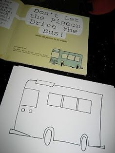 Activities to go along with Don't Let the Pigeon drive the Bus
