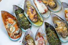 New Zealand mussels are plump, juicy and on a beautiful green half shell. Try my Mussels served 5 ways for your next party, your guests will love them!