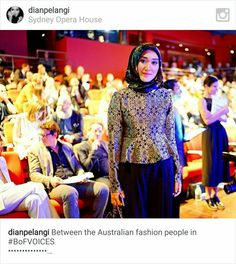 Between the Australian fashion people in (The one on my left is Karen Walker and is sitting exactly in front of me! Hope I could steal a pic with her ) by dianpelangi Gary Pepper Girl, Karen Walker, Australian Fashion, Kebaya, Sequin Skirt, Instagram Posts, People, Wedding Ideas, Album