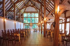 Set up for a wedding ceremony at Rivervale Barn wedding venue in Hampshire Country House Wedding Venues, Rustic Wedding Venues, Wedding Reception Venues, Best Wedding Venues, Barn Weddings, Wedding Barns, Wedding Ideas, Wedding Ceremony, Wedding Inspiration