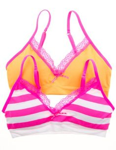 Girls Girls Training Bras with Lace T... $12.99 #bestseller