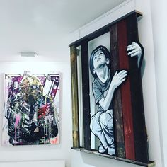 #joeiurato #newyork #streetart #urbanart #art #artcontemporain #contemporaryart #galeriegeraldinezberro #city #stikkipeaches #montreal #paris #painting #fineart #artist by galeriegeraldinezberro