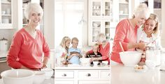 baking cookies with grandma session? This would rock!