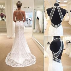 Chic glittery details on lace wedding dress Sinclaire by Maggie Sottero, courtesy of Bijou Bridal Boutique xoxo White Beach Wedding Dresses, Wedding Dress Types, Perfect Wedding Dress, Designer Wedding Dresses, Bridal Dresses, Wedding Gowns, Lace Wedding, Ceremony Dresses, Luxury Wedding