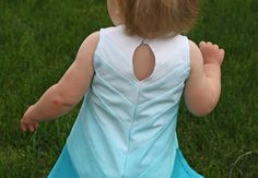 Running With Scissors: Gidget Frock: Chevron Ombre Dress