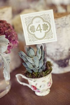 Table numbers by Brittnye Rutherford