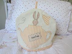 Teapot Cozy Handmade. $20.00, via Etsy.
