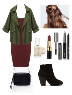 """Untitled #252"" by vivianangelica on Polyvore featuring Miss Selfridge, Bobbi Brown Cosmetics, Essie, Report and Zara"