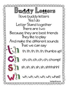FREEBIE Buddy Letters Song