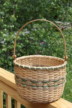 Garden Basket by BlueFrogBasketry on Etsy