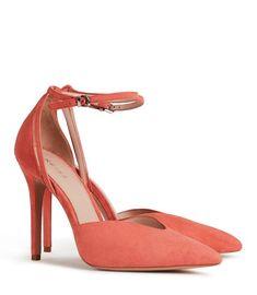 a0e77e47046 Womens SUEDE ANKLE-STRAP SHOES - REISS KATYA  SaddleShoesWomens