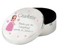 Fabulous Personalised Round Trinket Box | The Bridal Gift Box | Wedding & Bridal Gifts