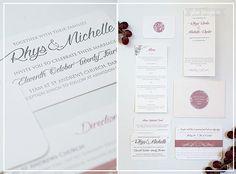 Glee Projects Wedding Invitations, Custom Statione Durban South Africa   WEDDINGS