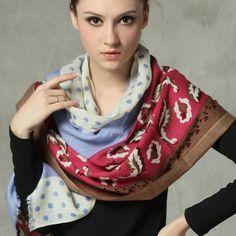7ee57829cba7 Women 100% Australian Merino Wool Scarf Shawl