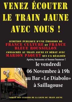 A lécoute du Train Jaune : vendredi 06 Novembre