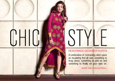 This New Arrival Designer Kurti is a magnificent addition to any women's fashion collection. Discover more designs and styles on www.lookbuylike.com