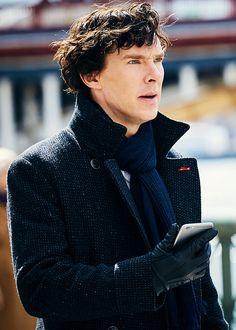 "Benedict Cumberbatch as Sherlock in Sherlock series 4's episode ""The Six Thatchers"" [HQ]"