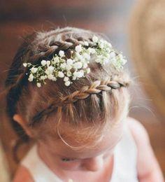 Découvrez notre galerie de 25 idées sur la coiffure petite fille pour une occasion spéciale! Elle sera une fille d'honneur? Ou bien il s'agit d'une autre ..