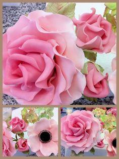 Flores bastante rosadas:
