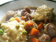 sausage dumpling soup