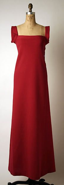 1965 Madame Grès (Alix Barton) | Evening dress | French | The Metropolitan Museum of Art