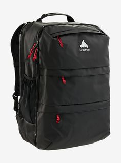 Burton Traverse Travel Pack shown in True Black Tarp