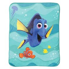Finding Dory Stingray Friends Plush Throw by Disney - JF29123HYML