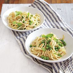 Summer Pea Pasta | CookingLight.com #myplate #vegetables