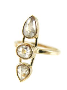 there's the ring he gets you, and the one you get yourself! lusting after this one for my right hand by Melissa Joy Manning