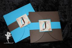 wedding maritime invitation in pocket #weddinginvitation #weddingpapeterie  #hochzeitseinladung #feenstaub