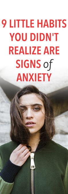 9 little habits you didn't realize are signs of anxiety  .ambassador