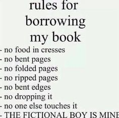 I should print out a pic of this, make many more copies and hand them out to people who want to borrow my books